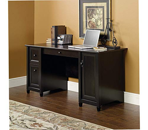Sаudеr Edge Water Computer Desk, Estate Black Finish
