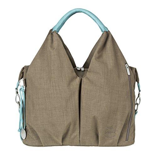 Lässig, Escotado bolsa de pañales Green Label, Brown (Topo)