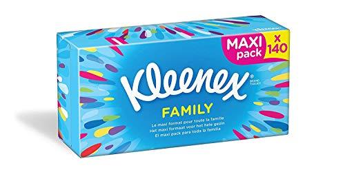 Kleenex Family Cosmeticadoekjes, 140 doekjes per doos, verpakking van 5 stuks