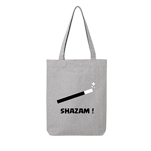 toile shazam bag recycle Tote en gris P6xpPRw