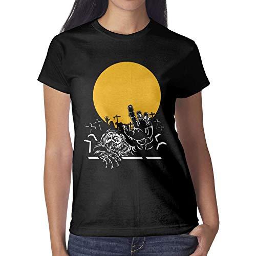 Melinda Halloween Light Zombie Figures Girls tee Shirt Halloween Costumes for Women ()