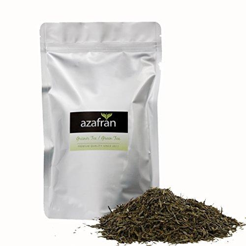 녹차-일본 유기 Sencha 그린 차 (250g) Azafrán ®