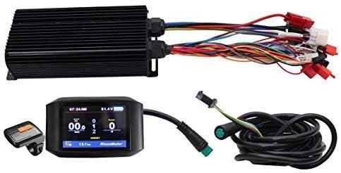 48-72V LCD Brushless DC Elektro Motor für Elektrofahrrad Bike Controller 2000W