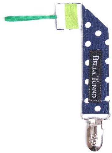 Bella Tunno Tejido LOOP Binker Clip para chupete, diseño ...