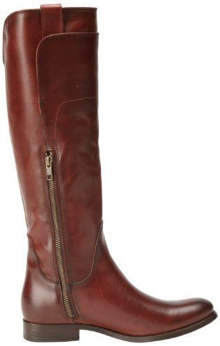 Frye Melissa Tall Riding, Women's Biker Boots Redwood Smooth Vintage Leather-76932