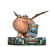 Posh Paws- How to Train Your 3 Meatlug Soft Toy-32cm CÓMO Formar TU DRAGÓN, Multicolor, 32 cm (12438)