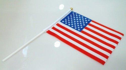 手旗 アメリカ / 手旗 国旗 アメリカ 世界 ミニ 国旗 手旗