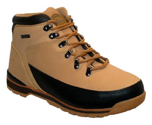 Groundwork GR86 S Zapatos de Seguridad de Cuero, Unisex miel