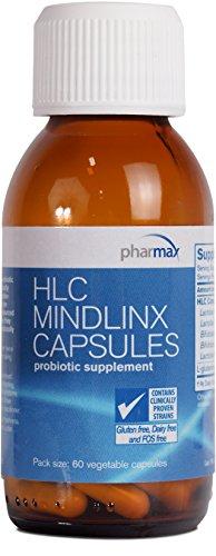 Pharmax - HLC MindLinx Capsules - Probiotics to Promote Optimal Intestinal Health* - 60 Capsules by Pharmax