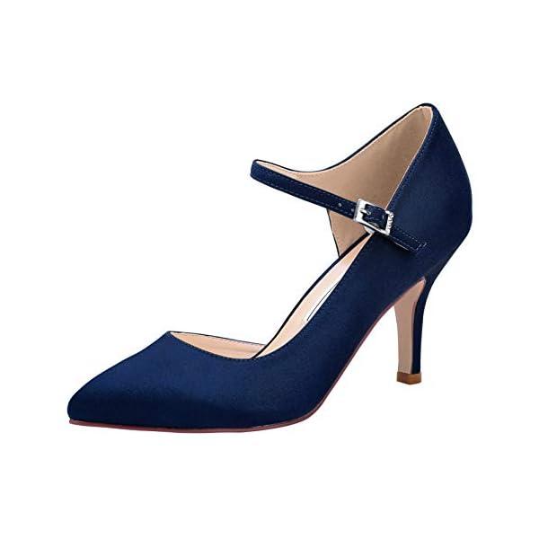 Zapato fiesta azul marino - ElegantPark