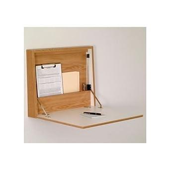 Amazon Com Wooden Mallet Wall Desk Laptop Workstation