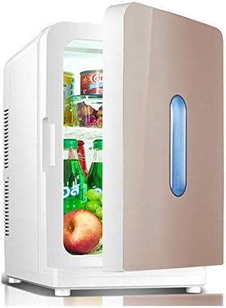 カー冷蔵庫20Lデュアル電圧ポータブルミニ冷凍庫ホーム用暖房シングルドアと冷却ボックス