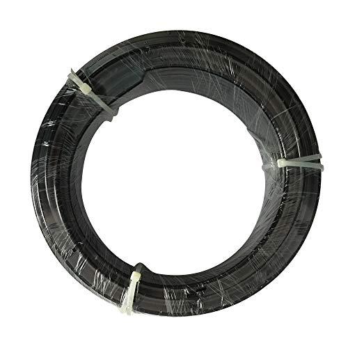 Legines High Pressure Black Nylon Tubing for Misting System, 1/4'' Tube OD, 82ft/25m Length by FOG