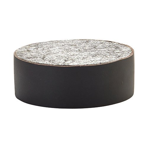 Shield Felt Floor Hockey Puck