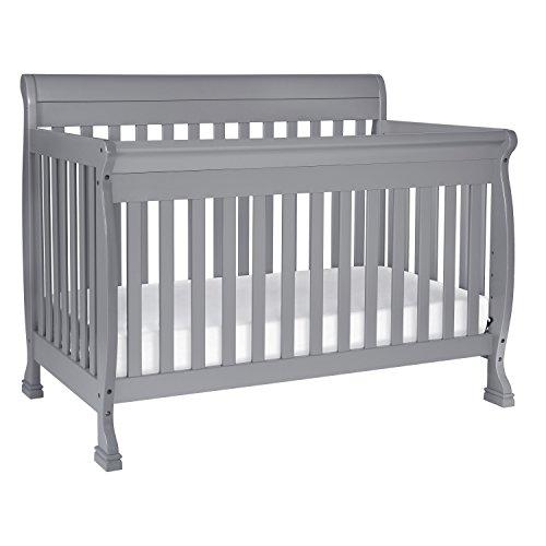 DaVinci Kalani 4-In-1 Convertible Crib With Toddler Bed Conversion Kit, Grey