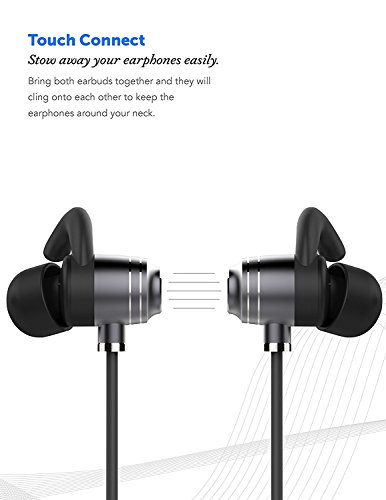 Sonim XP STRIKE Bluetooth Headset In-Ear Running Earbuds IPX4 Waterproof with Mic Stereo Earphones, CVC 6.0 Noise Cancellation, works with, Apple, Samsung,Google Pixel,LG by Ixir (Image #7)