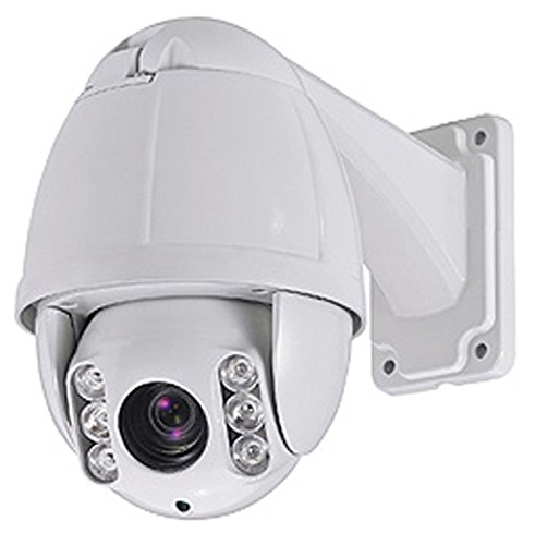Cop Security 15-CD51WI-10C Weatherproof Dome Camera with 10X Zoom (White)