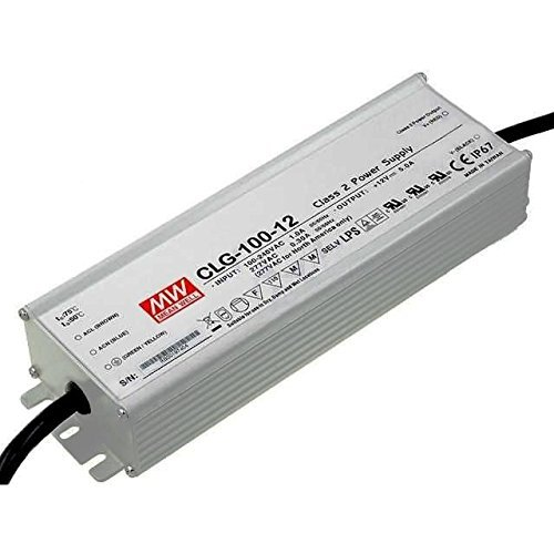 MW Mean Well CLG-100-12 LED Driver 60W 12V IP67 Power Supply Waterproof