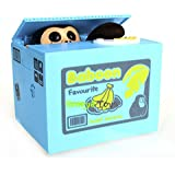 Soledi® Cute Itazura Automatic Stealing Coin Monkey Coins Penny Cents Piggy Bank Saving Box Money Box Kids Children Present Gift ¡­