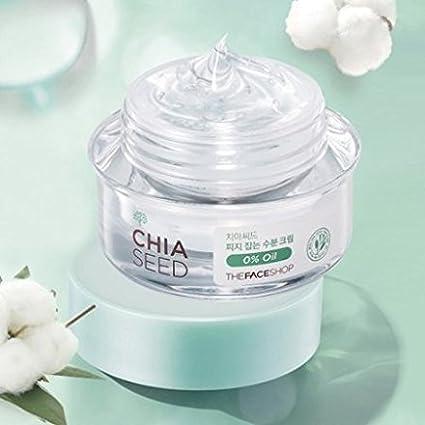 The Face Shop Chia semillas Sebo Control humedad crema 50 ml: Amazon.es: Belleza