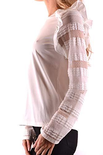 Mcbi36301 Maglia Donna Pinko Cotone Bianco Evqwq4d
