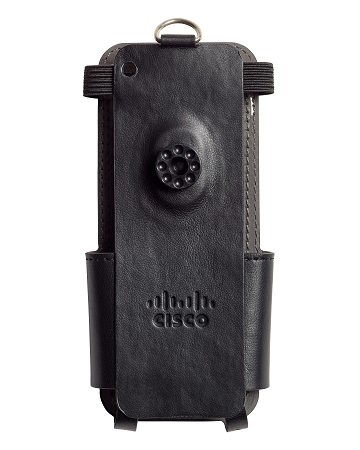 Cisco Wireless IP Phone 8821 and 8821-EX Leather Case with B