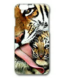 iphone 5 5s Case, Mama Tiger Case for iphone 5 5s 3D Hard Plastic PC Material