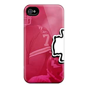 Iphone 4/4s XTi12629XxMH Customized HD Kansas City Chiefs Skin Protector Cell-phone Hard Cover -Marycase88