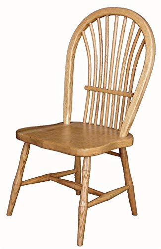(Superior Woodcrafts Amish Sheaf Back Child's Chair (Cherry))