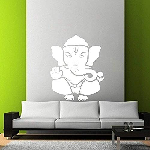 ed88e756b22 Shree Ganesh Vinyl Wall Decal Mural Decal Removable Home Decor HDS5370