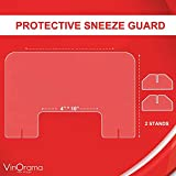 Countertop Desk Sneeze Guard- Protective