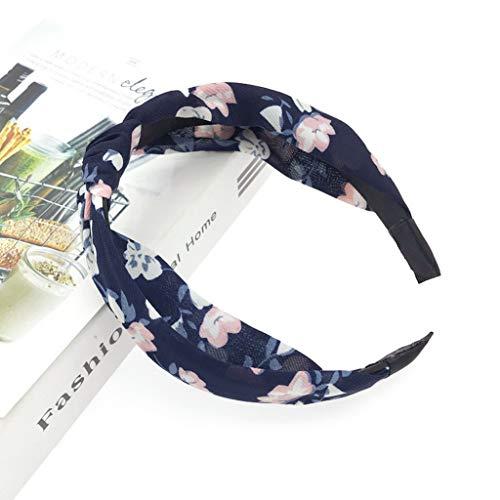 Women Hairband Hair Hoop Solid Print Headbands Girls