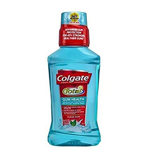 Antiplaque Mouthwash - Colgate Total Gum Health Antiplaque Mouthwash, Clean Mint 8.40 oz (Pack of 2)