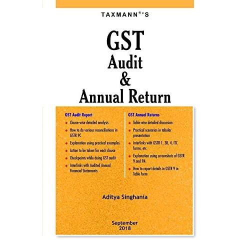 GST Audit & Annual Return (September 2018 Edition)