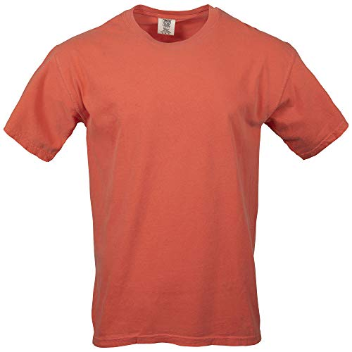 Comfort Colors Men's Adult Short Sleeve Tee, Style 1717, Bright Salmon, ()