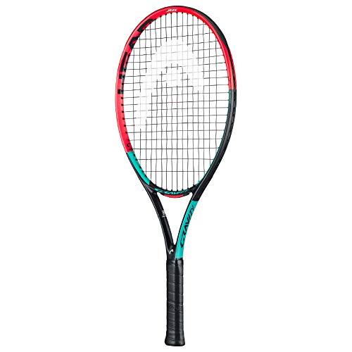 HEAD IG Gravity Jr Tennis Racquet - Beginners Pre-Strung Head Light Balance Kids Racket - 26