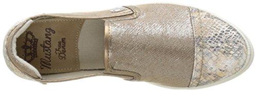 Braun on Femme 43 1217405 Beige Chaussures Beige Mustang Slip wzZPCqxcp