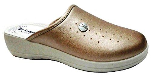 INBLU - Zapatillas de estar por casa de Material Sintético para mujer rojo Rame 37