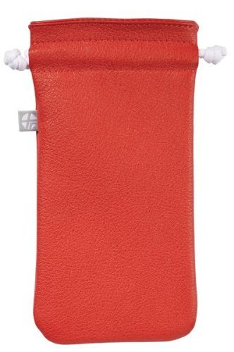Trexta Highest Quality Leather Cover for iPod Touch-Red