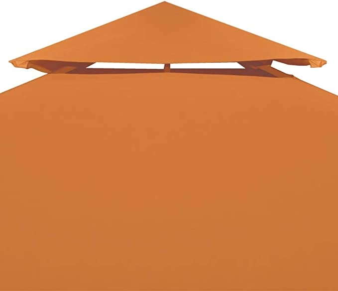 vidaXL Toldo de Cenador Repuesto Tela Impermeable Terracota 3x3m Techo Pérgola: Amazon.es: Hogar