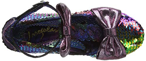 Freedom para Total D Zapatos Pink Mujer Vertical y Tira Multicolor Choice Blue Irregular Tacon con zTpWq5E66Z