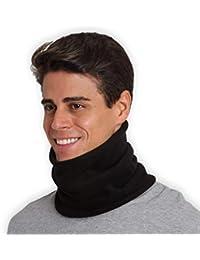 Fleece Neck Warmer - Neck Gaiter Tube, Ear Warmer...