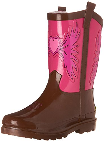 Western Chief Girls Printed Rain Boot, Western Cowgirl, 11 M US Little (Little Cowgirl Outfits)