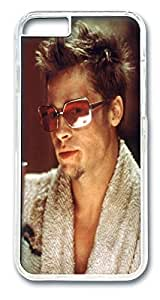 Fight Club Brad Pitt Custom iphone 6 4.7inch Case Cover Polycarbonate Transparent by runtopwellby Maris's Diary