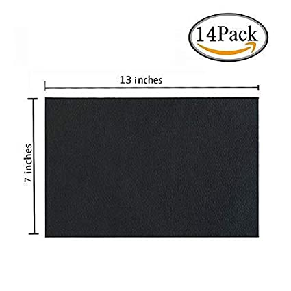 Big Leather Patch, Adhesive Backing Leather seat Patch for Repair Sofa, Car Seat, Jackets, Handbag, 54 by 39 Inch, Black bettorrow