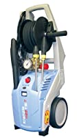 KranzleUSA K1122TST Cold Water Electric Commercial Pressure Washer with Auto On-Off, GFI and 50' Wire Braided Hose on Hose Reel, 1400 PSI, 2.0 GPM, 110V, 15A