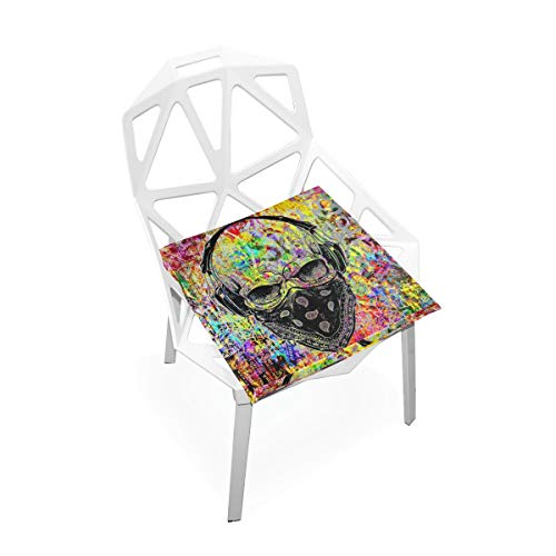 Seat Cushion Skull by Youns Chair Cushion Offices Butt Chair Pads Square Wheelchairs Mat for Computer