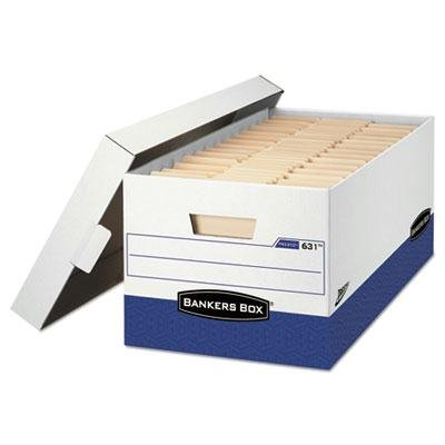 Bankers Box - Presto Maximum Strength Storage Box Lgl 24'' 15'' X 24'' X 10'' We 12/Carton ''Product Category: File Folders Portable & Storage Box Files/Record Storage Boxes'' by Bankers Box