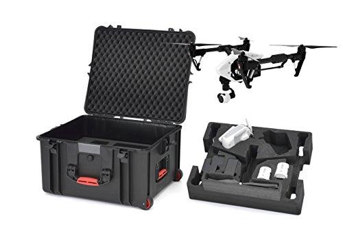 HPRC HPRC2730WINS Wheeled Resin Case with Foam for DJI Inspire 1 (Black)