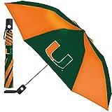 WinCraft University of Miami The U Umbrella 42 inches automatic folding
